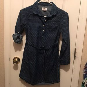Beautiful girl jeans dress old navy #8